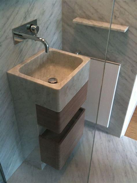 colonne vasque salle de bain marbre blanc carrare 171 azur
