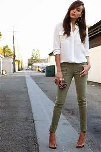 les 25 meilleures idees de la categorie pantalon vert With amazing quelle couleur avec le gris 8 tenue dentretien dembauche quelle couleur pour vous