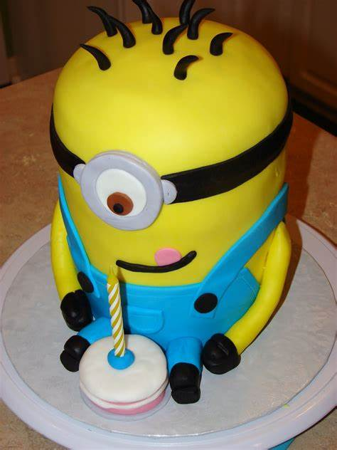 See more ideas about minion cake, minions, cupcake cakes. Minion Cakes - Decoration Ideas | Little Birthday Cakes