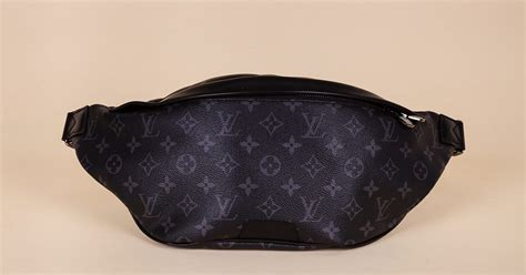 louis vuitton monogram eclipse discovery bum bag vivrelle
