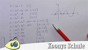 Nullstellen Berechnen Ganzrationale Funktionen : nullstellen bestimmen berblick polynomfunktionen ganzrationale funktionen youtube ~ Themetempest.com Abrechnung