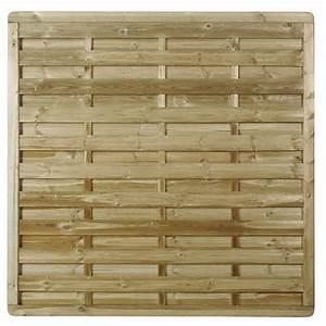 Panneau En Bois : panneau occultant en bois pr servez votre intimit ~ Teatrodelosmanantiales.com Idées de Décoration