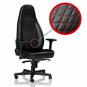 Merax Gaming Stuhl : noblechairs icon gaming stuhl schwarz rot im ~ Watch28wear.com Haus und Dekorationen
