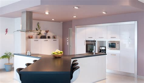 modern kitchen with a y island harmonie model