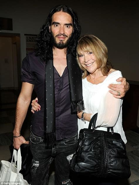 russell brand car russell brand s 71 year old mother injured in a hit and