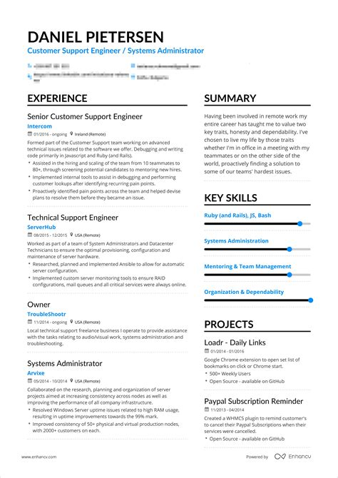 how should a resume be we the answer