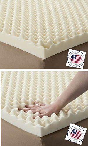 hospital bed mattress topper egg crate convoluted foam mattress pad 3