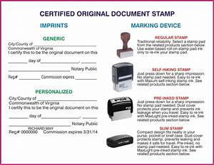 certified original document stamp With document certification stamp