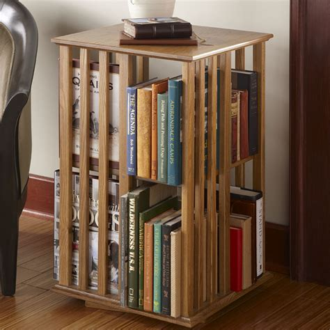 Revolving Bookcase Table, Antique Revolving Bookcase Table