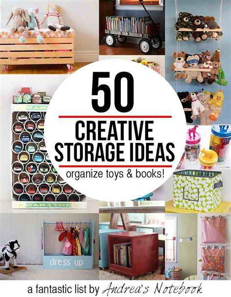 50 Creative Storage Ideas For Toys & Books