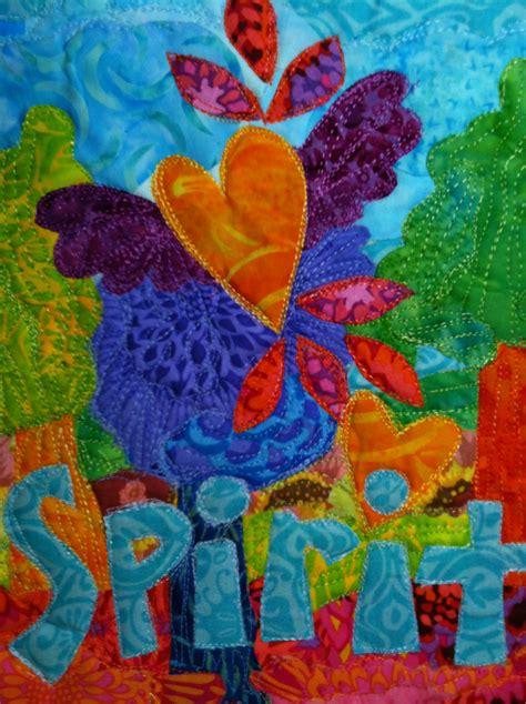 art quilt  stitch