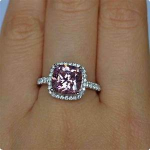 2 carat pink diamond engagement ring wedding and bridal With 2 carat diamond wedding ring