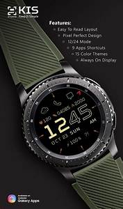 Samsung Gear Watch Faces App