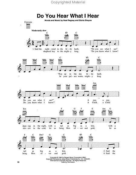 Easy Ukulele Christmas Songs