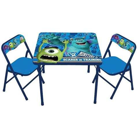 monsters classic activity table and chair set