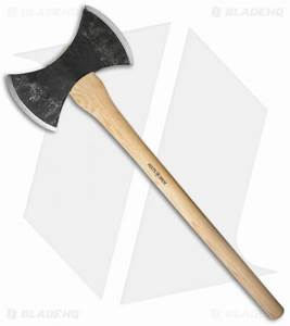 Hults Bruk Motala Double Bit Competition Axe - Blade HQ