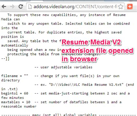 Vlc Resume Playback 2 2 1 by How To Resume Play In Vlc
