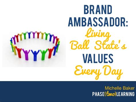 Brand Ambassador Living Ball State's Values Every Day