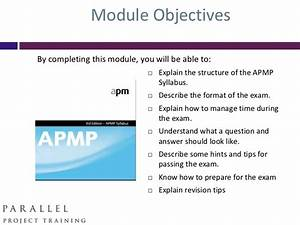 How To Pass The Apmp A Study Guide Pdf