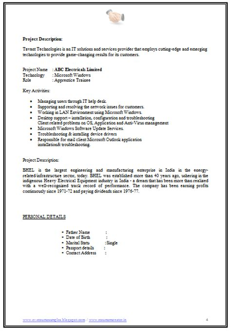 naukri resume update 28 images sle resume objectives