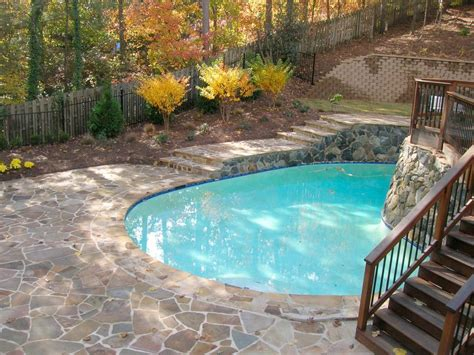 backyard makeover with pool before after big backyard makeovers hgtv