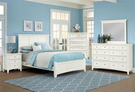 Mansion Bedroom Furniture by Bonanza Mansion Bedroom Set White Vaughan Bassett
