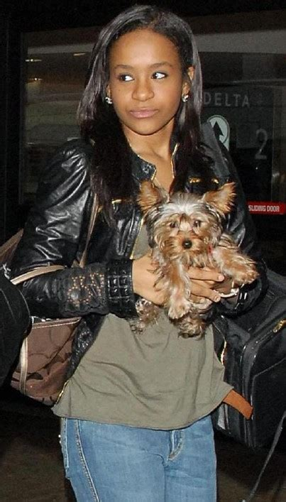 whitney houston  bobby browns daughter caught snorting