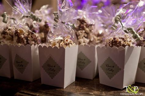 best 25 popcorn wedding favors ideas on pinterest