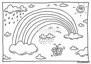 Regenbogen Zum Ausmalen : ausmalbild regenbogen stok g rseller ve telifsiz g rseller 39 da foto raf 132663307 ~ Buech-reservation.com Haus und Dekorationen
