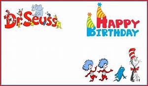 dr seuss free printable invitation templates With dr seuss birthday card template