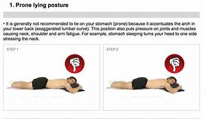 whats the best sleeping position what39s the best With best way to sleep with sore neck