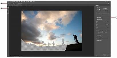 Photoshop Mask Select Masking Adobe Cs6 Workspace