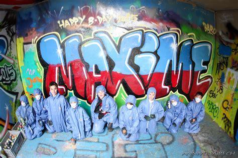 but chambre garcon annif original graffiti maxime anniversaire en suisse