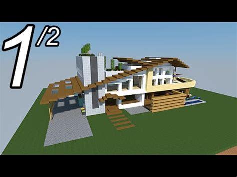 grande maison moderne minecraft minecraft tutoriel maison moderne vid 233 o 1 2