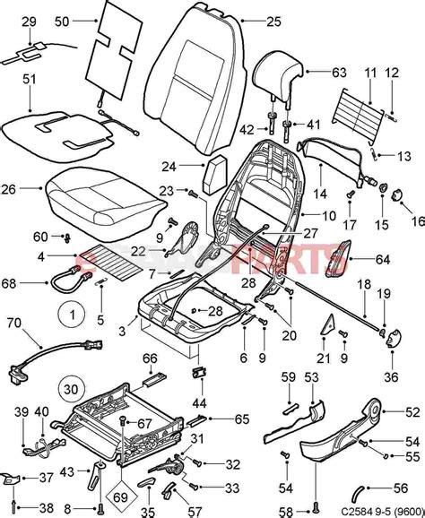 Saab 9 5 Seat Heater Wiring by 12760542 Saab Passenger Seat Occupancy Sensor Saab