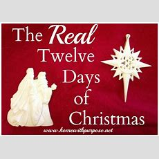 The Real Twelve Days Of Christmas Archives  Home With Purpose