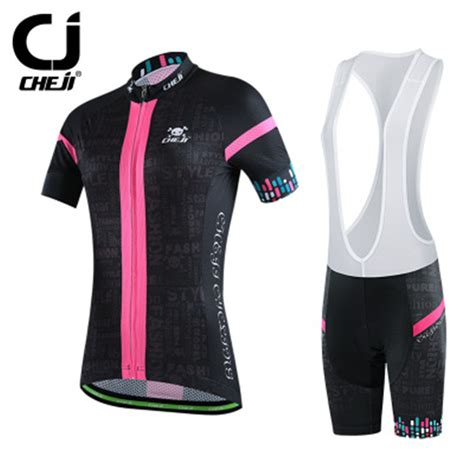 bike clothing 2016 cheji women mtb bike jerseys or bike bib shorts pro