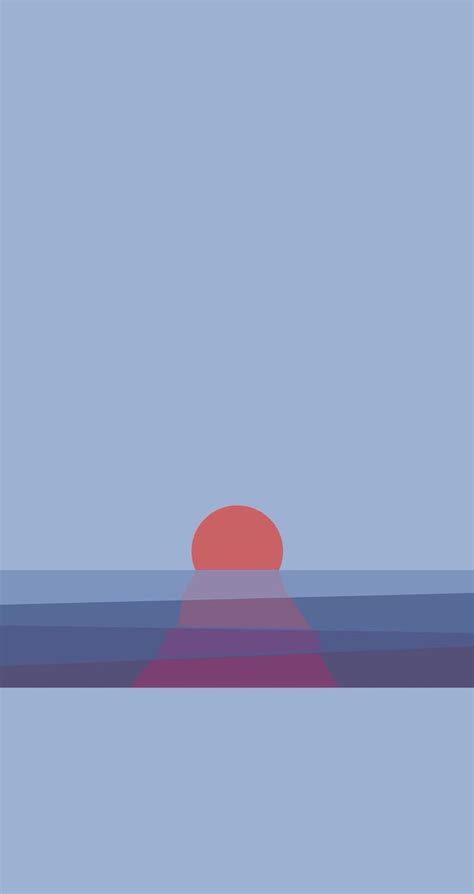 sunset find  minimalistic iphone android