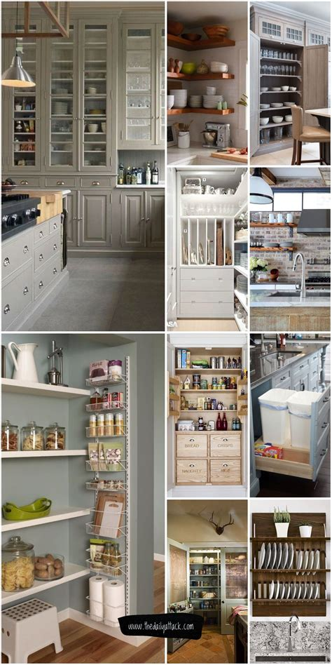 For Small Kitchen Storage by 61 Unique Kitchen Storage Ideas Easy Storage Solutions