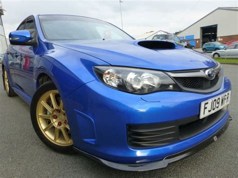 subaru impreza hatchback used world rally blue subaru impreza for sale cheshire
