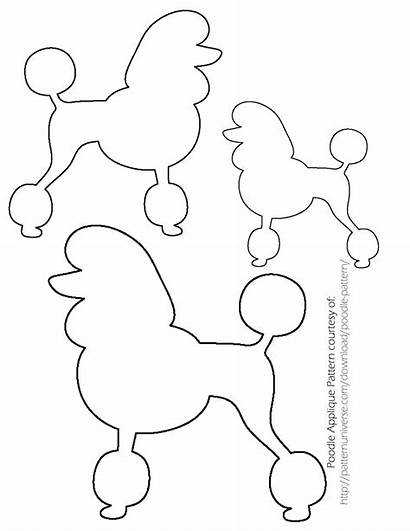 Poodle Sock Template Hop Skirt Pattern Skirts