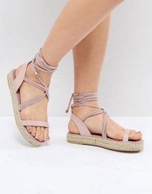 espadrilles espadrilles mit keilabsaetzen und sandalen fuer damen asos
