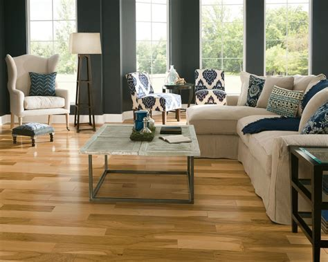"Armstrong Flooring Prime Harvest Engineered Hickory 1/2"" x"