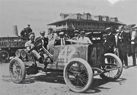 A 1904 Darracq Racing Car In New York City  The Old Motor