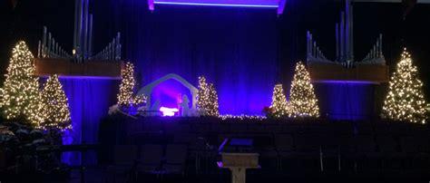 stage nativity church stage design ideas