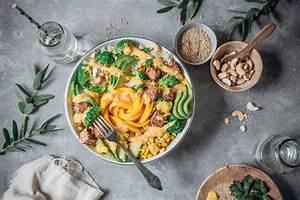 Was Macht Man Mit Avocado : summerbowl mit sesamtofu avocado und mango dressing foodlovin 39 ~ Yasmunasinghe.com Haus und Dekorationen