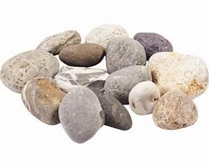 Runde Flache Steine Kaufen : rheinkies 40 80 mm 250 kg grau beige bei hornbach kaufen ~ Michelbontemps.com Haus und Dekorationen