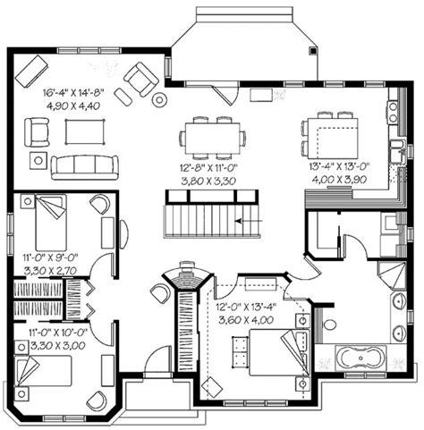 planos casas de  dormitorios planos de casas