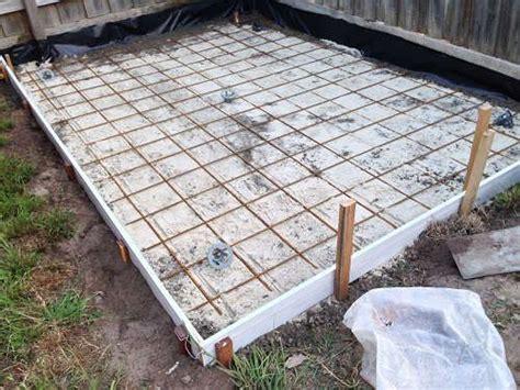 concrete slab for shed base 13 best shed foundations images on foundation