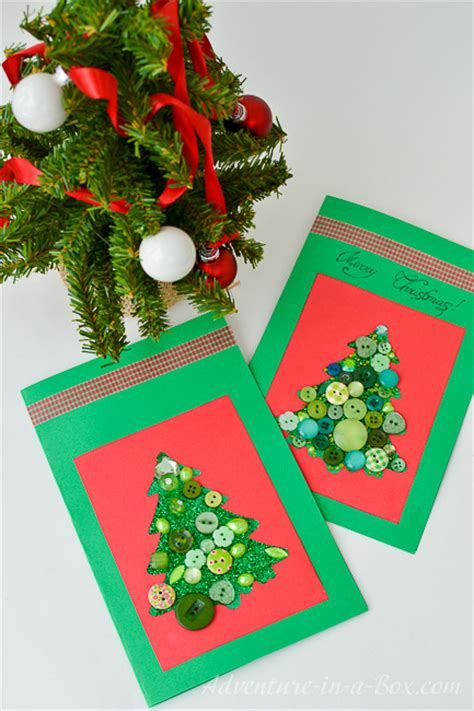Making Christmas Cards With Toddlers